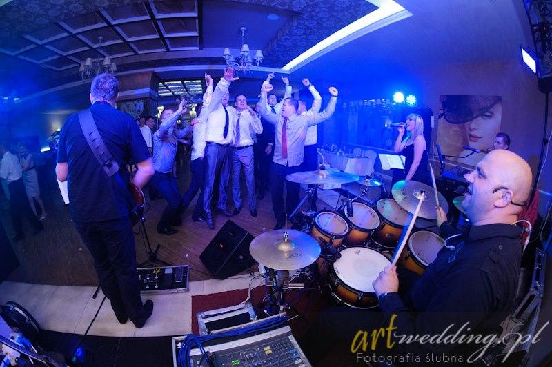 zespół muzyczny sk-1 w akcji